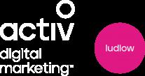 Activ Digital Marketing Ludlow white