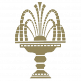 gold fountain